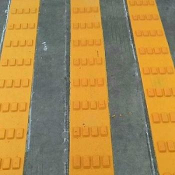 厂家甘肃威盾道路施工标志标牌广告牌热熔冷喷震荡线