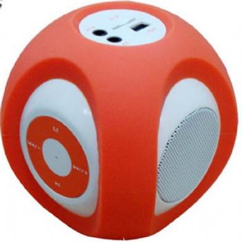 创意硅胶音响套户外自行车迷你音响外壳环保耐用防水硅胶可爱造型