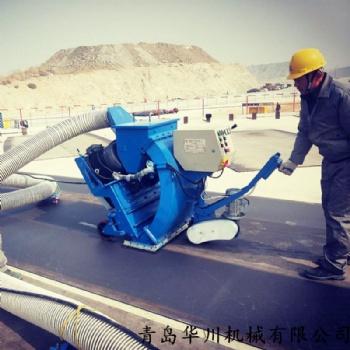 青岛船舶甲板除锈抛丸机 机场跑道抛丸机 抛丸清理机