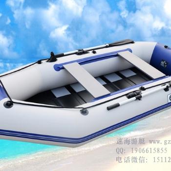 水上作业橡皮艇,加厚硬底充气艇,冲锋舟,钓鱼船