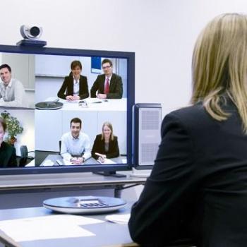 东莞视频会议系统解决方案 高清视频会议 亿联宝利通华为视频会议