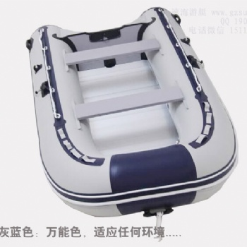 5人拉丝底皮划艇,PVC充气艇,加厚冲锋艇,三层夹网船