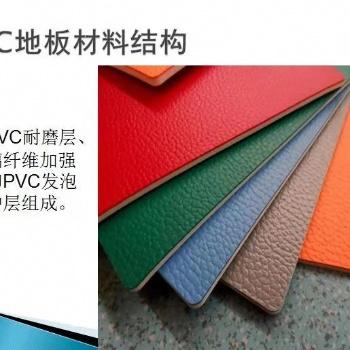 衡阳PVC室内塑胶地板施工