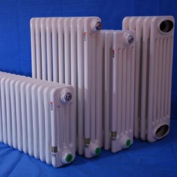 旭冬散热器 钢四柱散热器 钢四柱暖气片