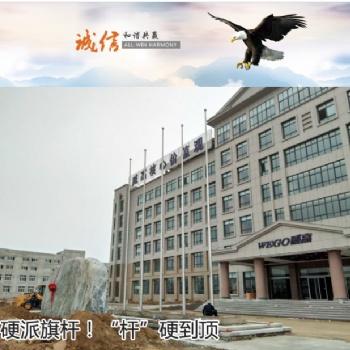 南京锥形旗杆 合肥旗杆厂 弘扬旗杆定制厂