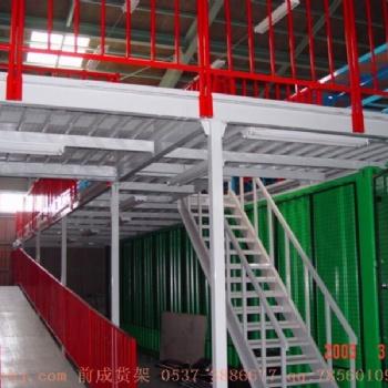 山东厂家免费规划设计阁楼式货架