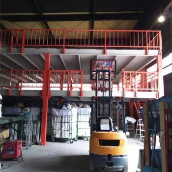 山东货架厂家定制钢平台