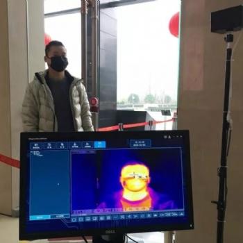 非接触式测温热成像仪--人体体温筛查