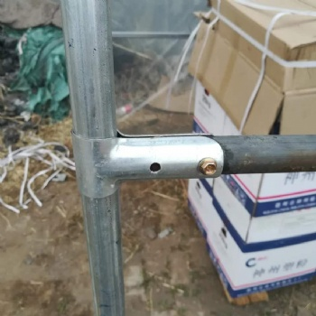 大昌农业温室大棚配件骨架连接器鸭嘴卡大棚配件厂家