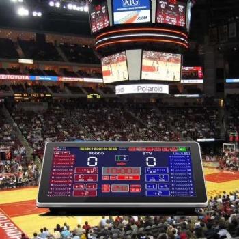 体育篮球计时记分系统