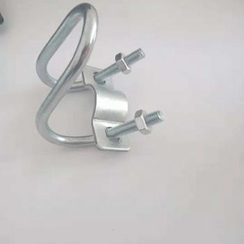 大棚配件大棚圆管十字双U型丝大棚配件厂家一手生产无中间商