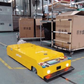 天津阿备默机器人 磁导航350kg潜伏牵引AGV