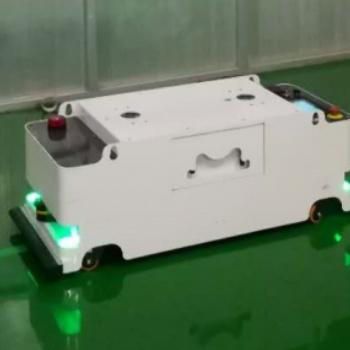 天津阿备默机器人 磁导航500kg潜伏牵引AGV