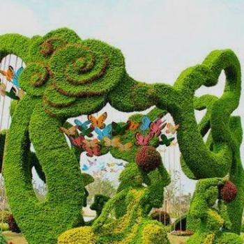 西安 绿雕 悦海同鑫绿雕造型新颖 技术精湛