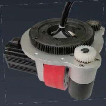 天津阿备默机器人 AGV500kg舵轮驱动机构