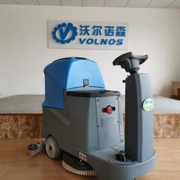 驾驶款车间环氧地坪大理石电动洗地机