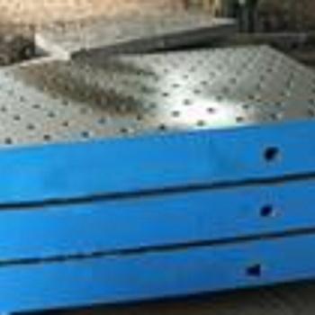 铸铁灰口平台HT200_铸铁平台_铸铁钳工测量划线装配平台厂家供应