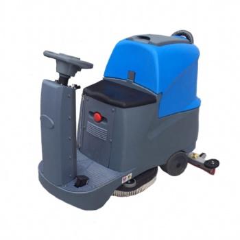 驾驶式洗地机商用工业洗地拖地吸地一体机工厂环卫扫地车