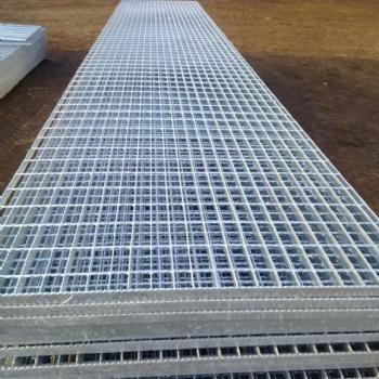 抛光钢格栅板,镀锌钢格栅板,钢格栅板表面处理,临夏钢格栅板