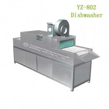 YZ-802学校食堂全自动商用多功能洗碗机厂家一年质保