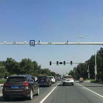 摄像机悬臂杆,监控杆,八角杆,金属杆,滕坤交通设施制造有限公司