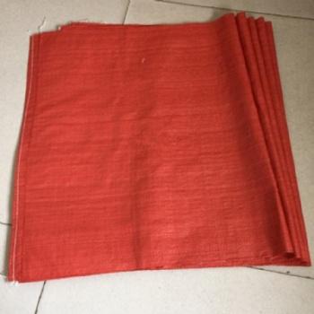 红色大豆编织包装袋、红色饲料包装袋