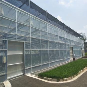 玻璃温室承建 连栋玻璃温室 温室定制