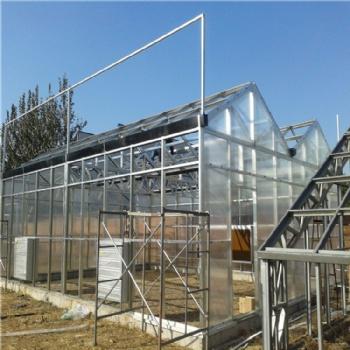 智能阳光板温室 厂家 生态餐厅