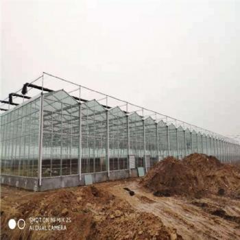 连栋玻璃温室 温室造价 小型玻璃温室