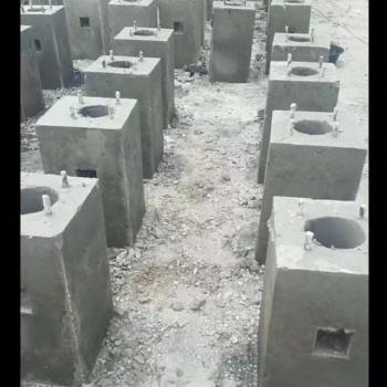 天津路灯底座水泥构件品质保障的生产厂家