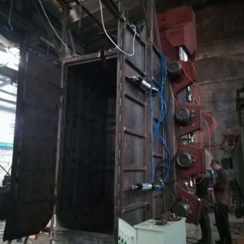 青岛铸机城供应Q37吊钩式抛丸清理机