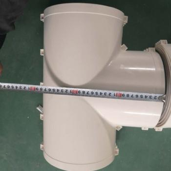 厂家保水通保温管配件等径三通