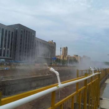 重庆江北绿色环保工地围挡喷淋
