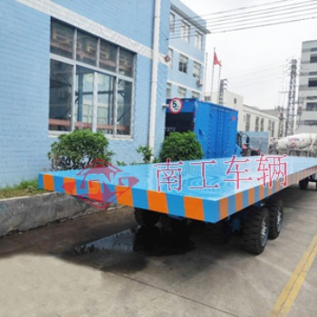 30吨12米长重型全挂平板拖车