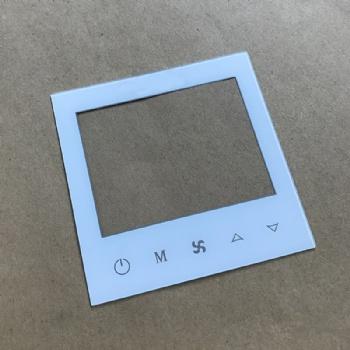 专业加工开关面板玻璃 智能家居玻璃盖板 来图来样钢化玻璃定制
