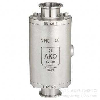 德国AKO VMC气动挤压阀-卡箍连接