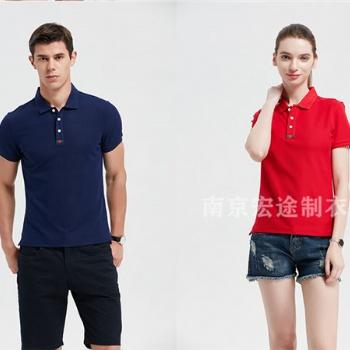南京POLO衫定做厂家 南京短袖T恤批发 南京文化衫广告衫厂家刺绣