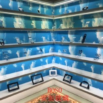 厂家批发1.0mm华光电子玻璃2.0浮法玻璃原片平板电脑盖板玻璃