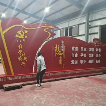 西安 标识标牌 信仰专业的力量-陕西悦海同鑫建设工程有限公司设计