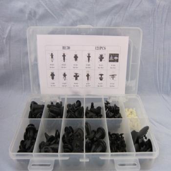 40PCS通用汽车装饰门板固定夹子卡扣