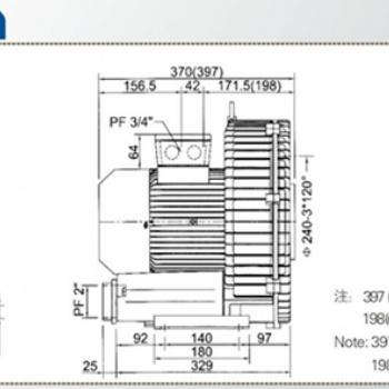 东莞2.2kw高压风机,高压鼓风机供应
