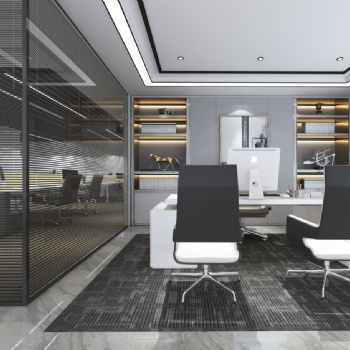 长沙办公室设计施工-中艺美装饰