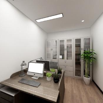 现代办公室装修-长沙中艺美装饰