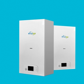 未蓝28KW多功能燃气壁挂炉 家用采暖热水炉 农村煤改电设备 L1PB28-WLHB