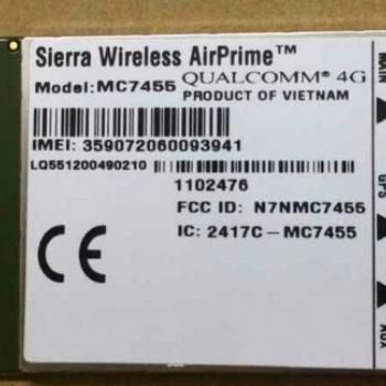 供应sierra(司亚乐)模块AirPrime MC7455