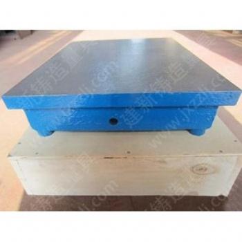 建新铸造量具生产精度稳定铸铁平台 落地镗床工作台 检验平台 测量平台