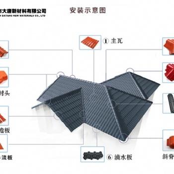 宝安区多功能防风树脂瓦报价|规格|厂家