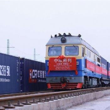 铁路进口瑞士至中国门到门物流,报关报检服务
