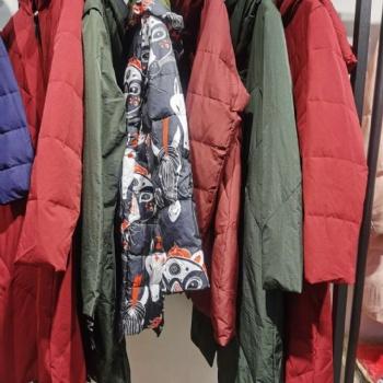 专柜正品羽绒服三标齐全【肯帕】20大版羽绒服品牌折扣走份实体店女装拿货一手货源