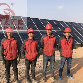 内蒙古阿拉善盟30kw风光互补发电系统 家用风力发电机
